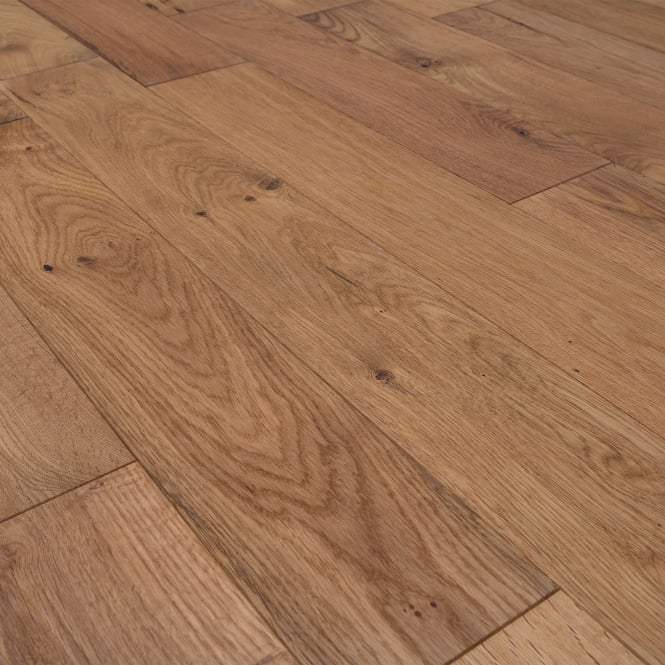 Tudor Rustic 14/3x125mm Natural Oiled Oak Engineered Real Wood Flooring (LIBEOAK14125OIL)