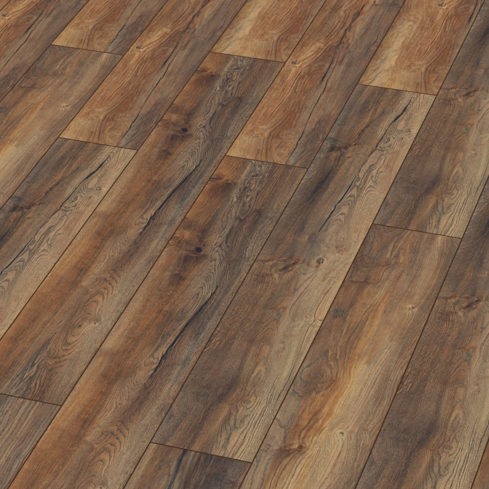 Kronotex Villa 12mm Harbour Oak Laminate Flooring M1203
