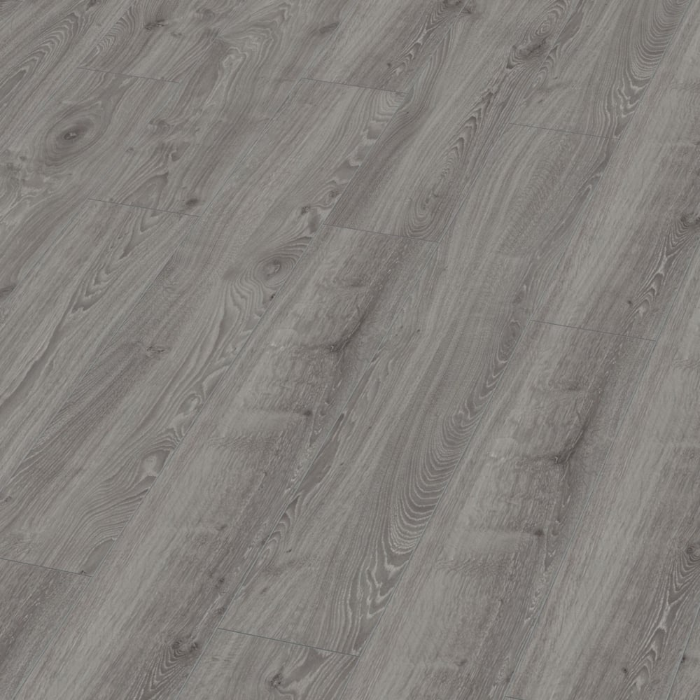 Villa 12mm Timeless Grey Oak Laminate Flooring M1206