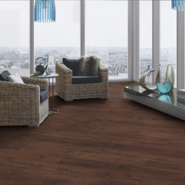 Krono Original Vintage Classic 10mm Antique Chestnut 4v Groove Handscraped Laminate Flooring (5535)