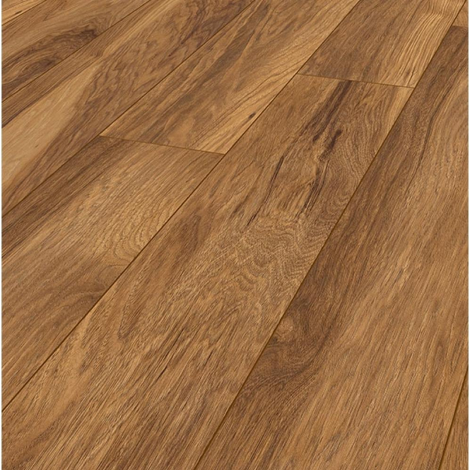 Krono Original Vintage Narrow 10mm Appalachian Hickory 4v Groove Handscraped Laminate Flooring (8155)