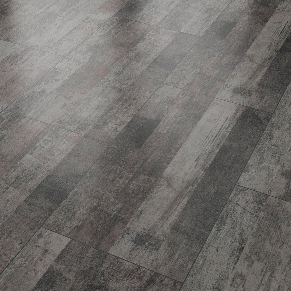 Liberty Vision Vintage Black Laminate Tile Flooring Leader Floors