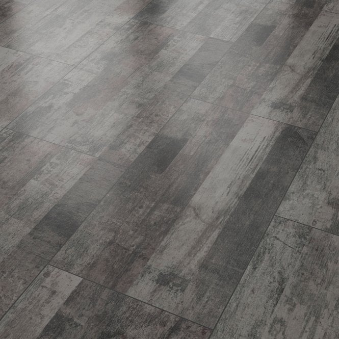 Liberty Vision Vintage Black Laminate Tile Flooring
