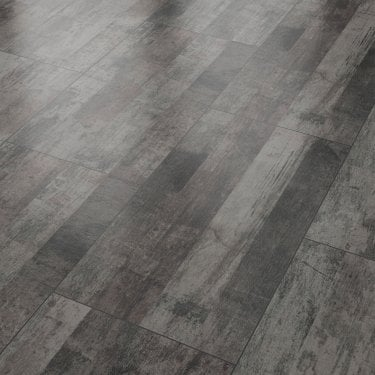 Vision 8mm Vintage Black Tile Laminate Flooring (47532)