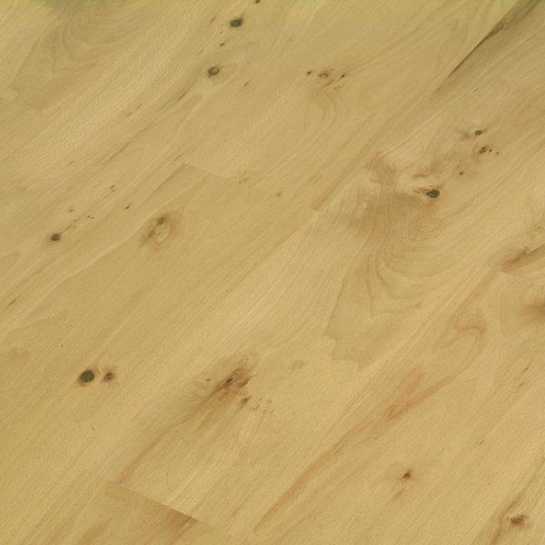 Elesgo wellness flat edge knotty beech ac4 laminate for Knotty laminate flooring