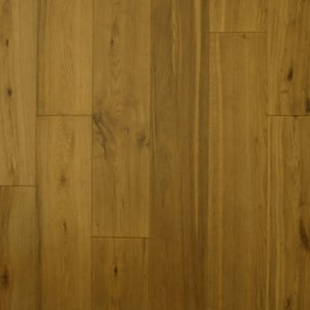 Wood Plus 18x189mm Smoked Brushed & Matt Lacquered Engineered Oak Flooring