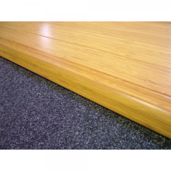 Wood flooring carbonised bamboo adapting profile for Floor profile