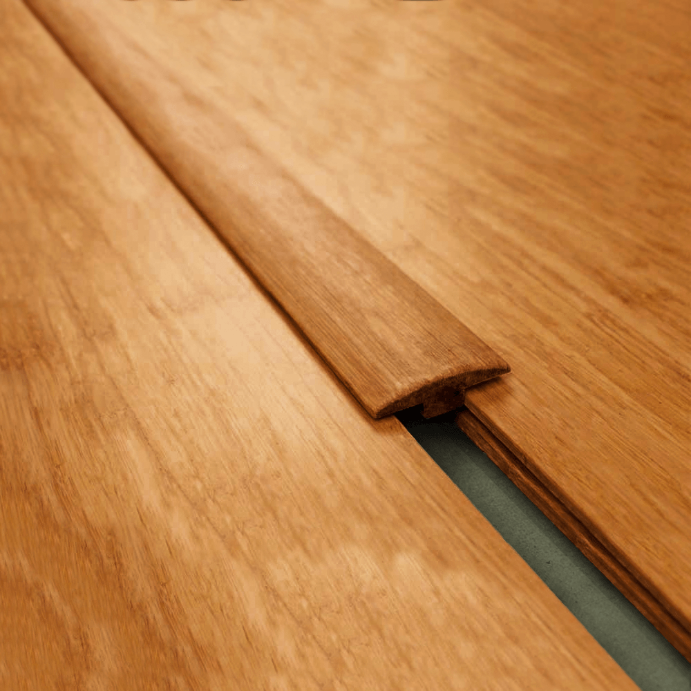 Wood+ Carbonized Strand Woven Bamboo Connecting T Profile ...