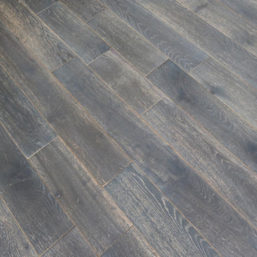 Wood+ Flooring Classic 18x154mm Mystic River Brushed & Lacquered Solid Oak Flooring