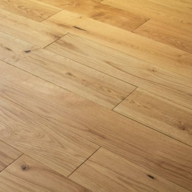 Wood+ Flooring Natural Choice 20/6x220mm Lacquered Structural Engineered Oak Flooring