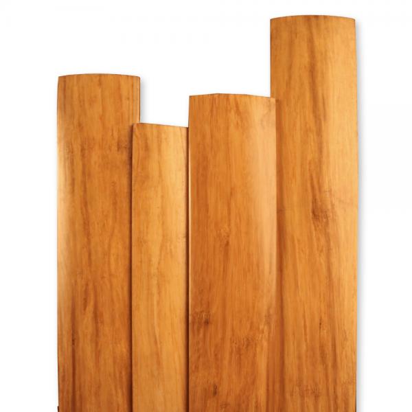 Natural Strand Bamboo : Wood+ Natural Strand Woven Bamboo Connecting T Profile  Leader Floors