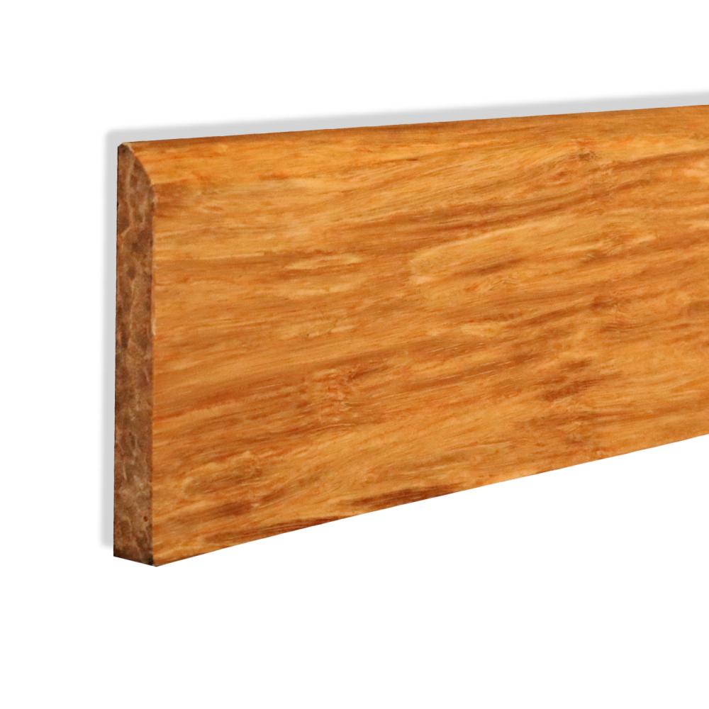 Wood natural strand woven bamboo skirting board leader for Wood skirting