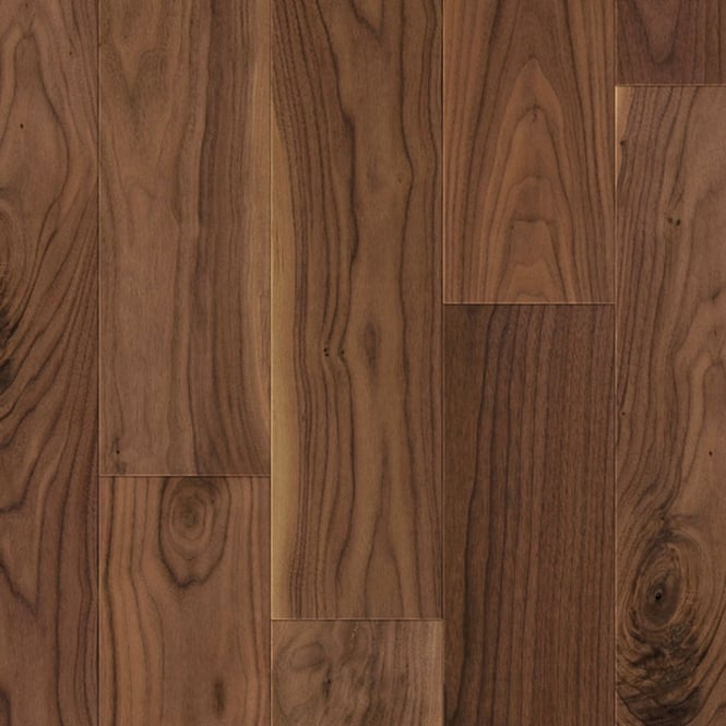 Wood+ Flooring PS300 UV Oiled 13x142mm Oiled American Lively Engineered Walnut Flooring