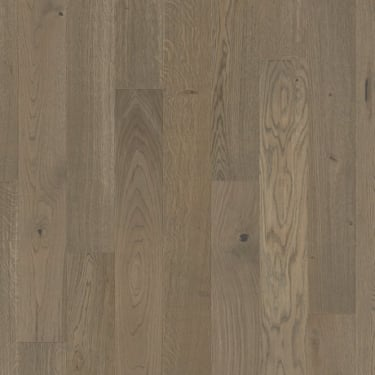 Wood+ Flooring PS300 UV Oiled 13x142mm Oiled Brushed Clay Grey Lively Engineered Oak Flooring