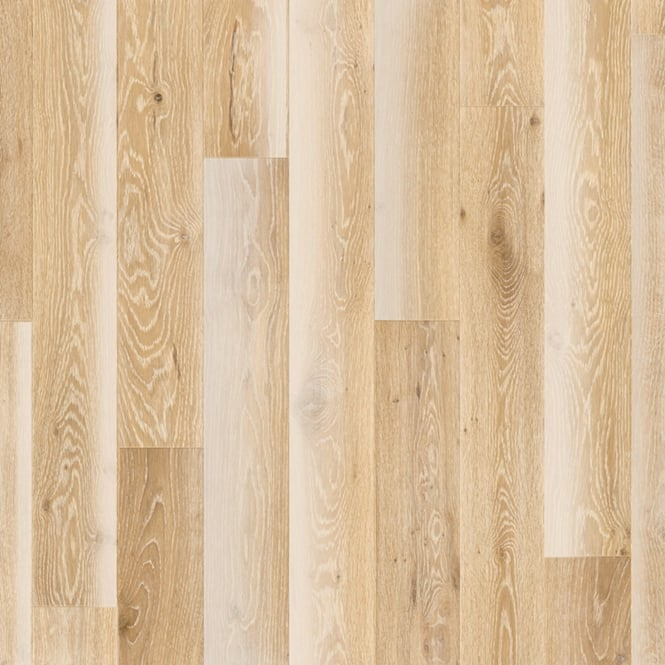 Wood+ Flooring PS300 UV Oiled 13x142mm Oiled White Wash Lively Engineered Oak Flooring