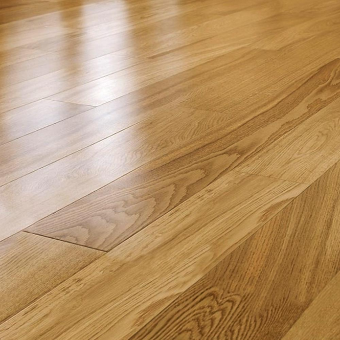 Tudor rustic 14 3x125mm lacquered engineered oak flooring for Uniclic flooring