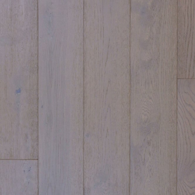 14x189mm Brushed & Matt Lacquered Stone Grey Oak Engineered Real Wood Flooring (2958)