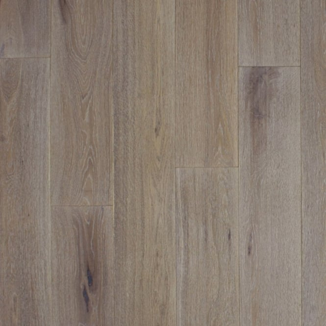 14x189mm Brushed & Oiled Whitewashed Oak Engineered Real Wood Flooring (2713)