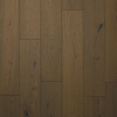 18x150mm Brushed & Matt Lacquered Truffle Oak Engineered Real Wood Flooring (2444)