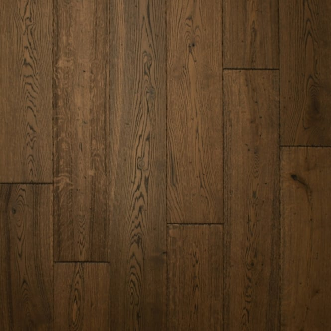 18x150mm Brushed & Oiled Antique Oak Engineered Real Wood Flooring (2625)