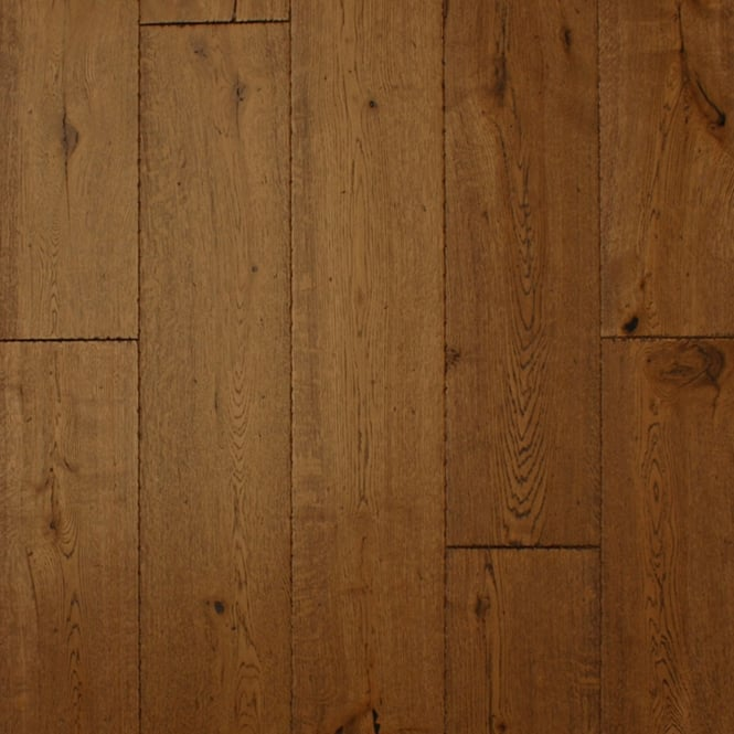 18x189mm Brushed & Oiled Antique Oak Engineered Real Wood Flooring (2619)