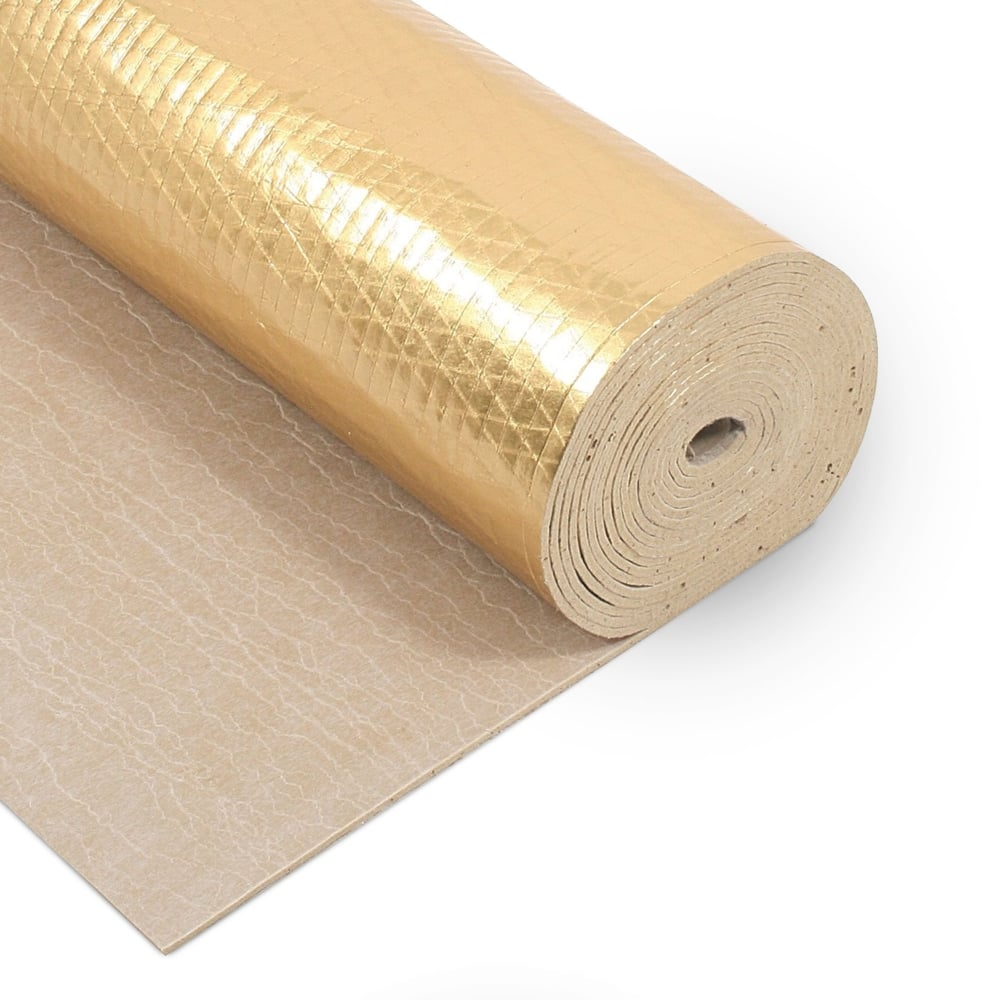 Wood plus timbertech acoustic plus flooring underlay for Wood floor underlay 5mm