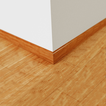 Wood Plus Carbonized Strand Woven Bamboo Skirting Board