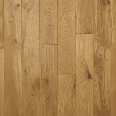 European 20x150mm Brushed & Oiled Oak Solid Wood Flooring (2416)
