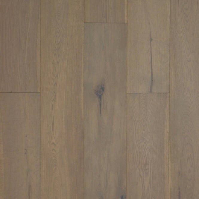 European 20x150mm Platinum Grey HPPC Solid Oak Flooring