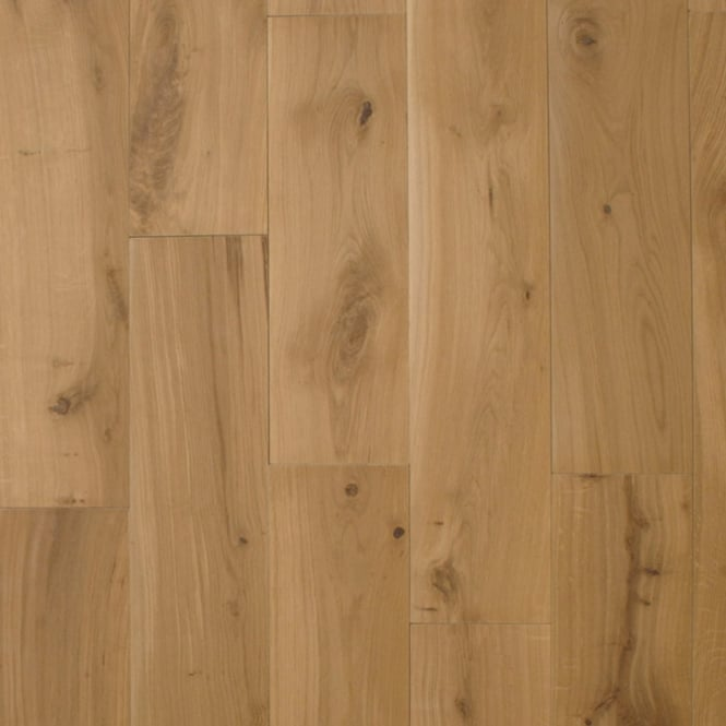 European 20x180mm Invisible Oil HPPC Solid Oak Flooring