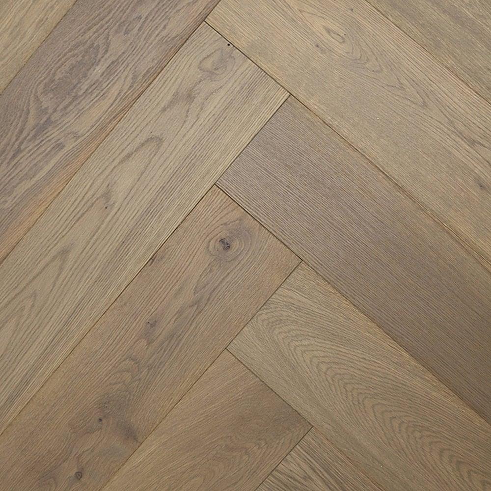 Herringbone Platinum: Wood+ Flooring Herringbone 15x148mm Platinum Grey HPPC
