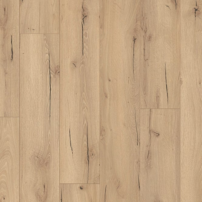 LD95 Classic 8mm Light Cracked Oak Laminate Flooring (6258)