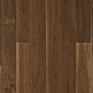 Multi-Layer 14x125mm Lacquered Engineered American Black Walnut Flooring