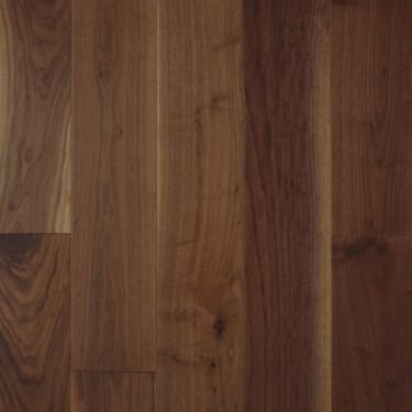 Multi-Layer 18mm x 191mm Lacquered American Black Walnut Engineered Real Wood Flooring (2460)