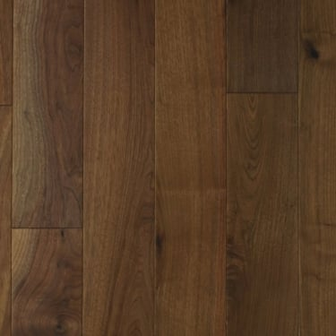 Multi-Layer 18x150mm Lacquered American Black Walnut Flooring