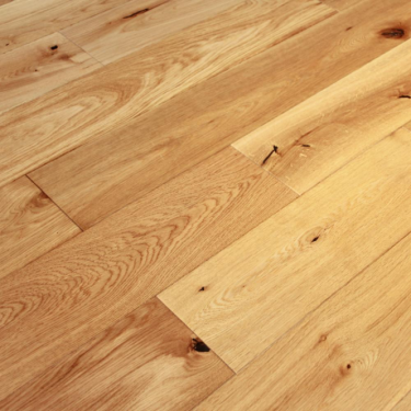 Wood Plus Natural Choice 18/4x189mm Brushed & Oiled Structural Engineered Oak Flooring