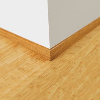 Wood Plus Natural Strand Woven Bamboo Skirting Board