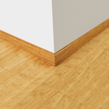 Natural Strand Woven Bamboo Skirting Board