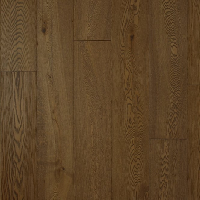 Wood Plus 14x189mm Cocoa Brushed & Oiled Engineered Oak Flooring