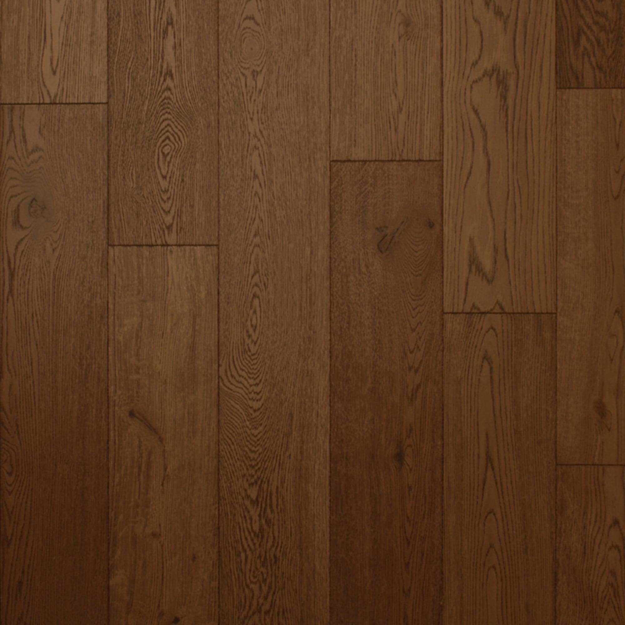 Wood flooring 18x150mm cocoa brushed oiled engineered for Engineered oak flooring