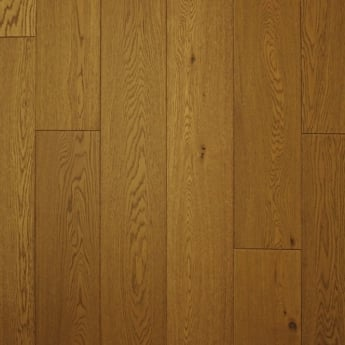 Wood Plus 18x189mm Golden Wheat Brushed & Matt Lacquered Engineered Oak Flooring