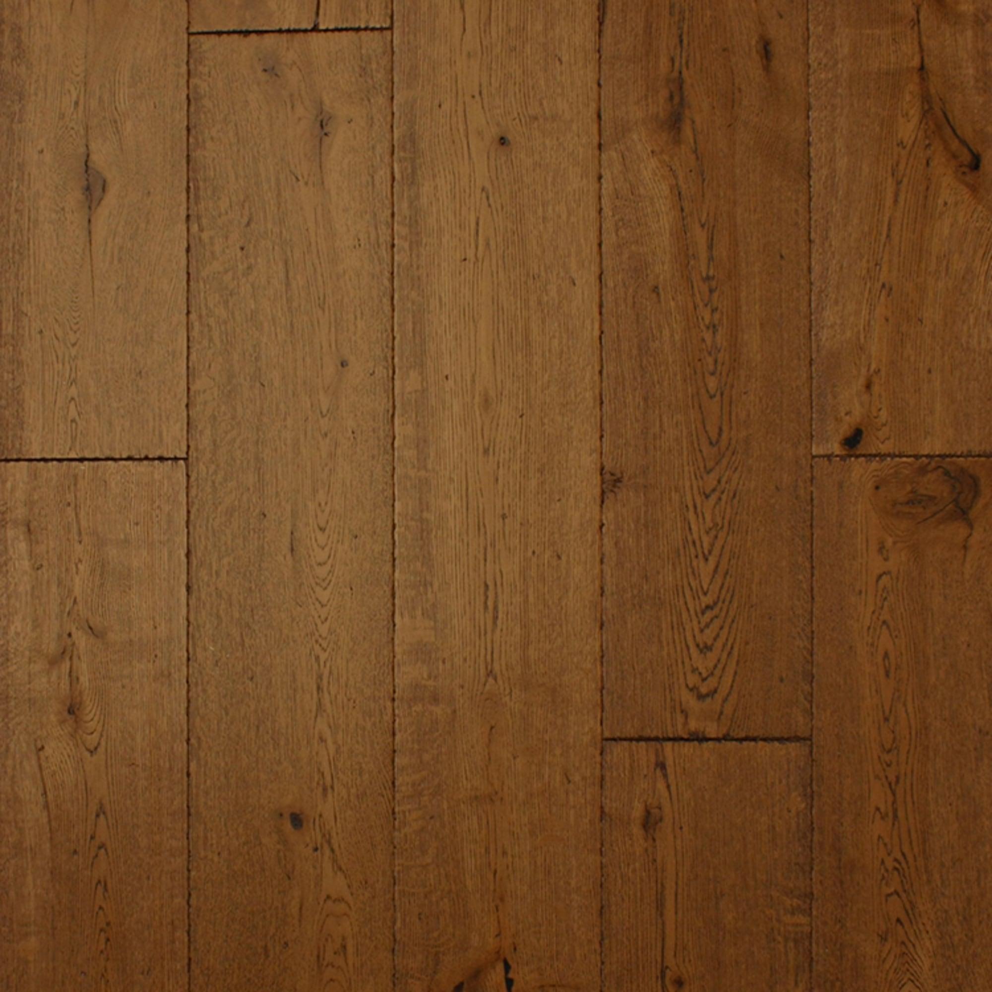 Wood flooring 18x189mm hand worn antique tumbled edge Worn wood floors