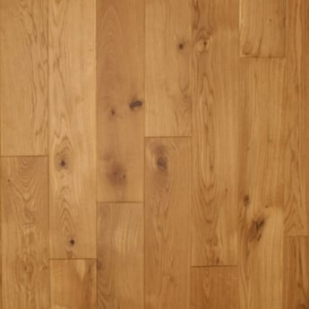 Wood Plus European 20x150mm Lacquered Solid Oak Flooring