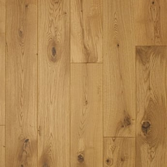 Wood Plus European 20x180mm Lacquered Solid Oak Flooring