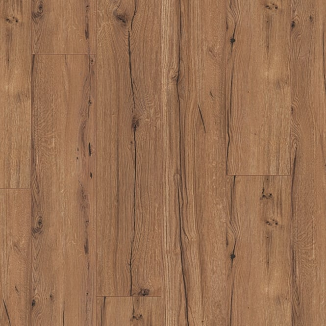 Wood Plus LD95 Classic Cognac Rustic Oak Laminate Flooring (6256)