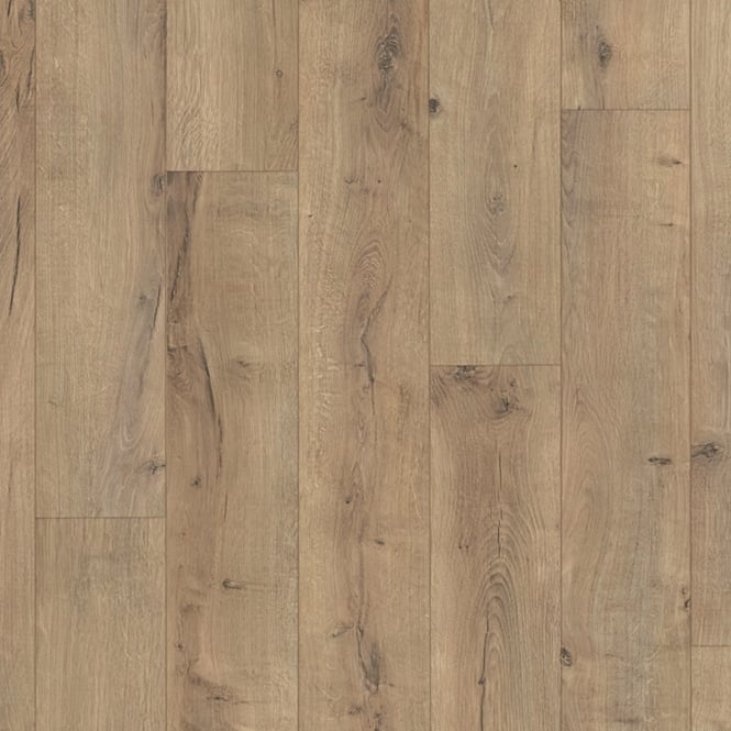 Wood Plus LD95 Classic Cracked Terra Oak Laminate Flooring (6439)