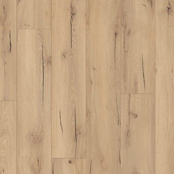 Wood Plus LD95 Classic Light Cracked Oak Laminate Flooring (6258)
