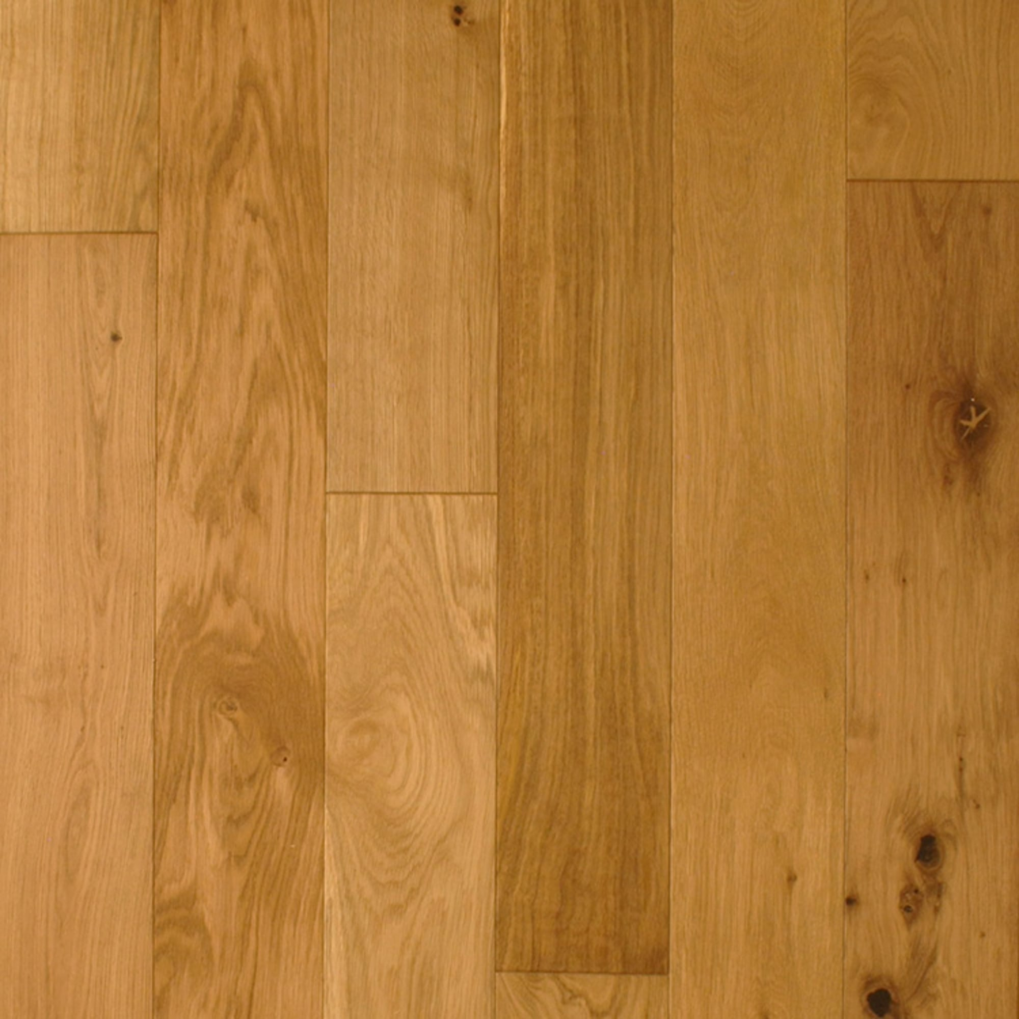 Wood flooring multi layer 18x150mm lacquered engineered for Engineered oak flooring