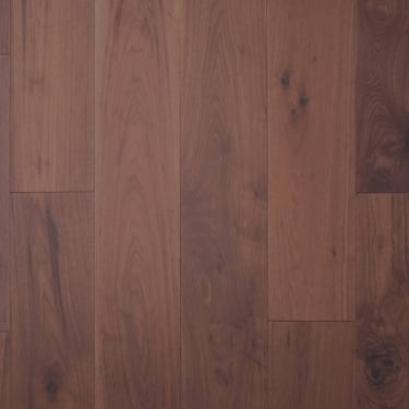 Wood Plus Multi-Layer 18x191mm Flat Oiled American Black Walnut Flooring
