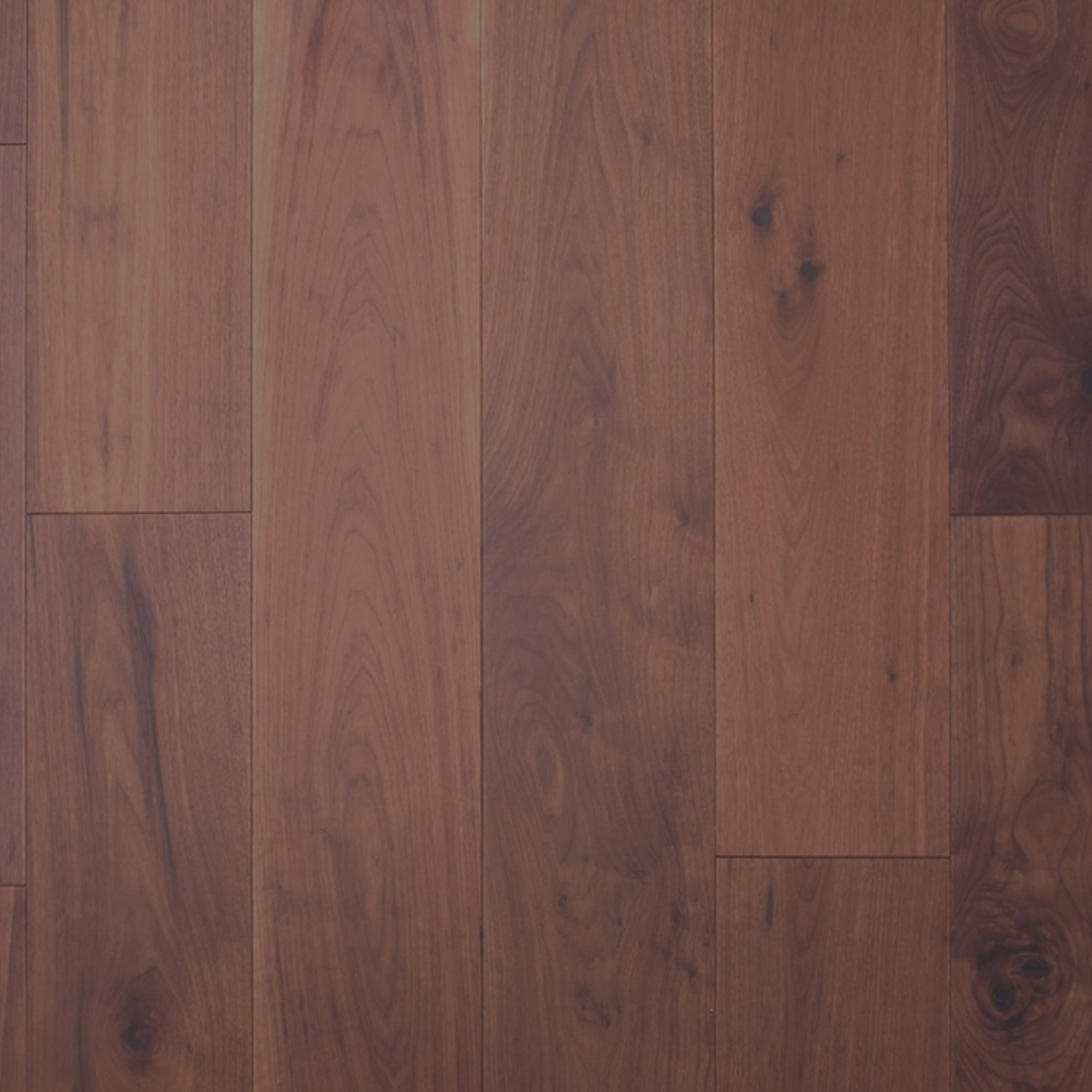 Wood flooring multi layer 18x191mm flat oiled engineered for Walnut flooring